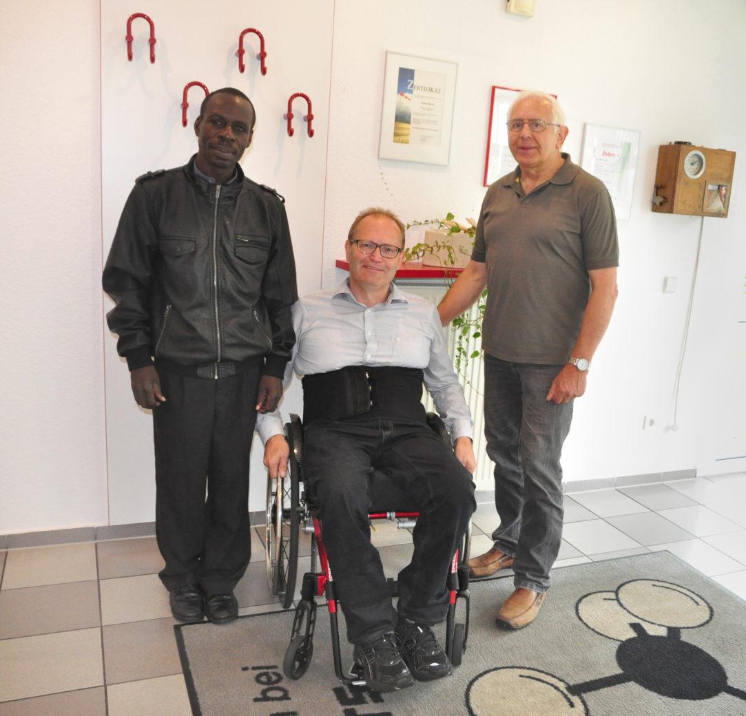 Besuch BELU Ugandahilfe